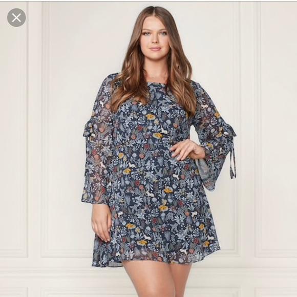 bbb299eb5b7e LC Lauren Conrad Dresses & Skirts - LC Runway Floral fit & Flare unicorn  dress